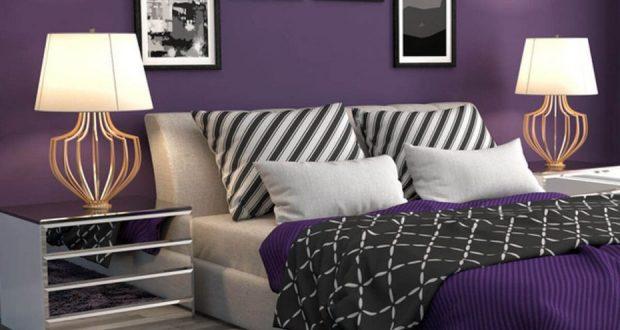 Релакс и свежест- интериорен дизайн в лилаво